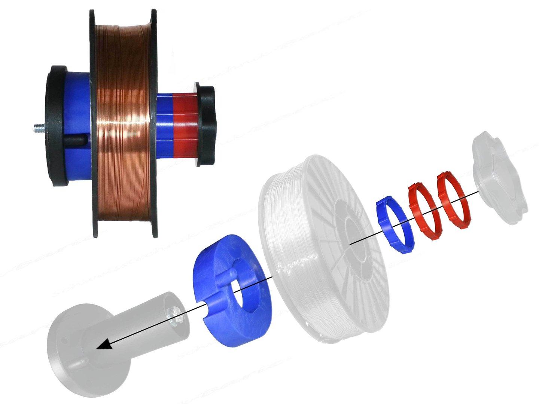 Schweissdraht SG2 0,8mm G3Si1 15kg ThyssenKrupp Schweißgas MIG MAG NEU