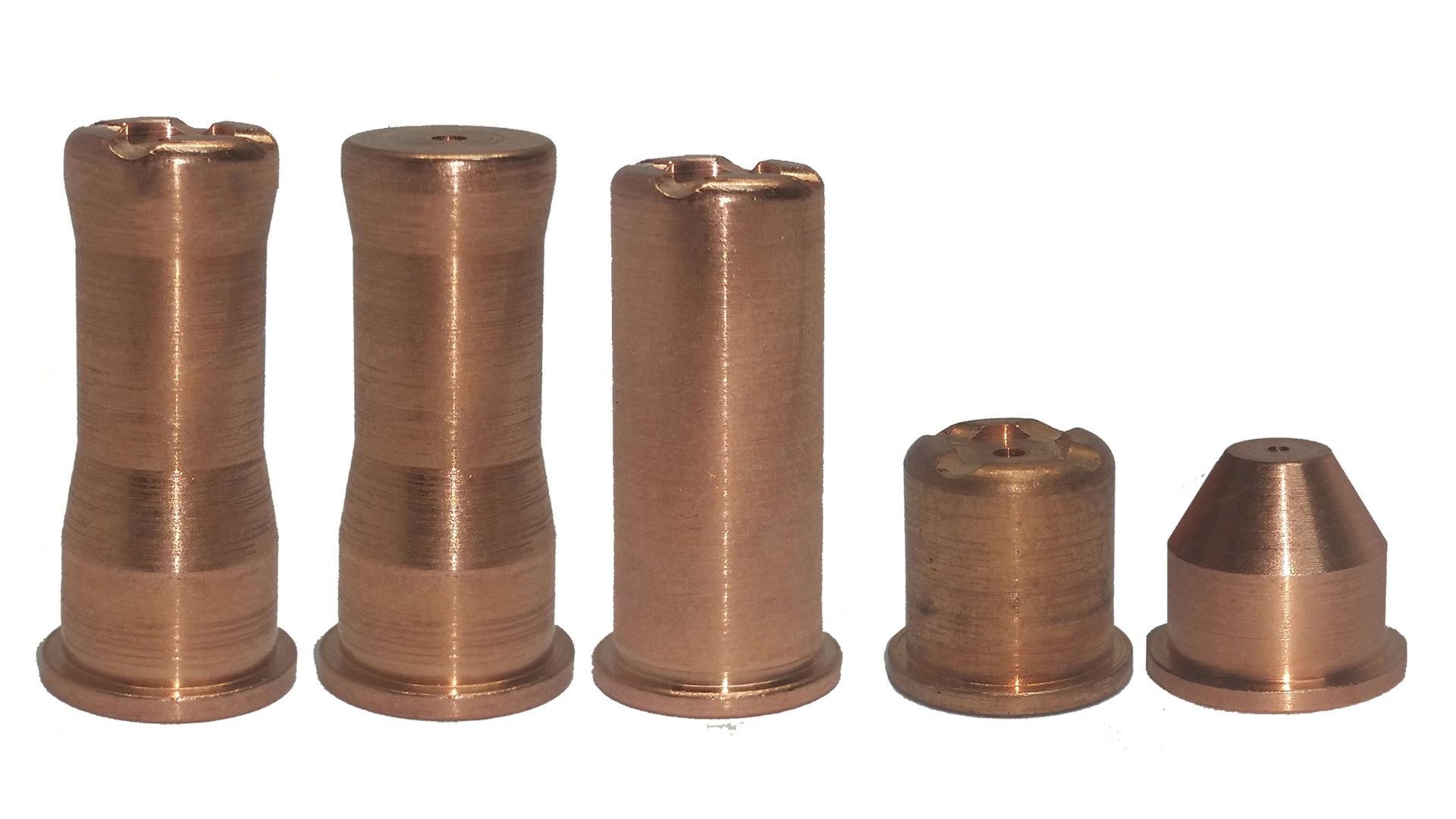 10 Stück Stromdüse M5 für MIG//MAG Brenner Typ10 Größen versch